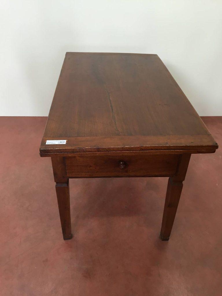 foto-Tavolo a libro da aperto cm 138, pioppo, 1800, Italia Centrale