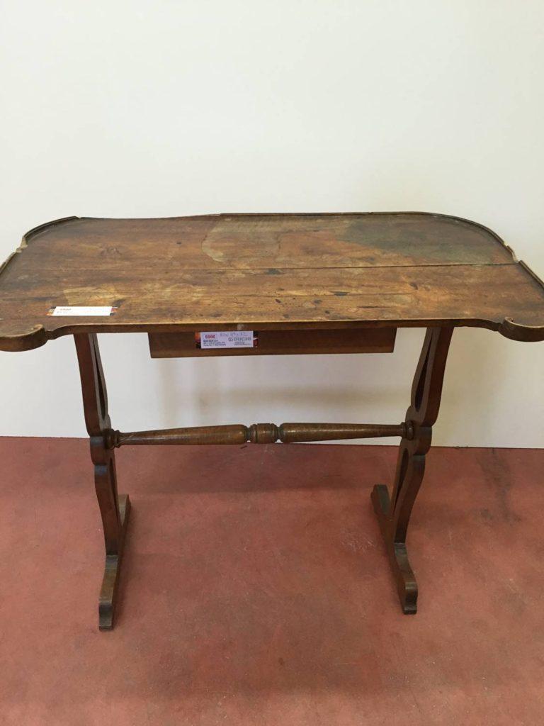 foto-Tavolino noce 1800
